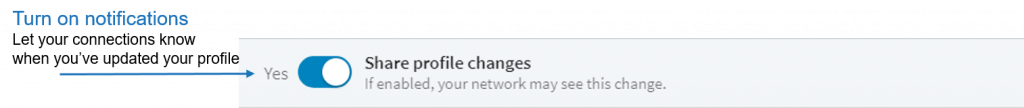 linkedin notifications screenshot