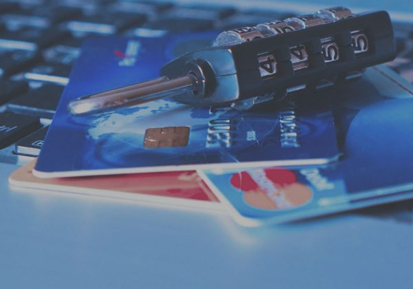 credit cards and lock-PCI compliance scan